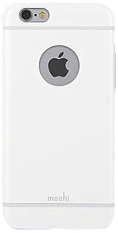 Moshi - 99MO079102 - Coque de protection iGlaze pour iPhone 6 - Blanc