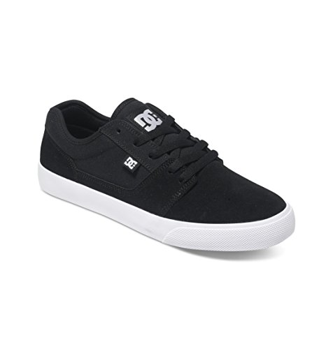 DC Shoes TONIK M, Low-Top Sneaker uomo, Negro (black/white/black xkwk), 43