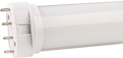 LED 2G11 Stiftsockel (Dulux PL-L Ersatz) 22W, tageslicht- weiß (5.500K), Abstrahlwinkel: 120°, Linse: Milchglas, Fassung: 2G11, Eingangsspannung: 220- 240V (AC), Lm: 1800Lm, CE/