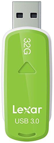 Lexar JumpDrive S37 USB 3.0 32GB Pen Drive (White & Green)