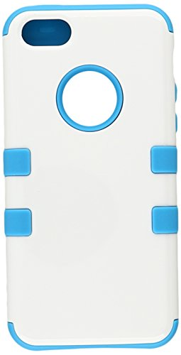 impatto custodia rigida + silicone Tuff Hybrid Protector cover per iPhone 5C