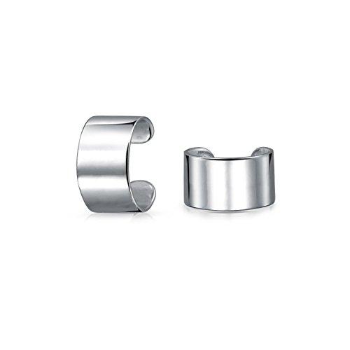 etrische Band Knorpel Ohr Manschetten Schlingen Helix Nicht Ohrringe 925 Sterling Silber ()