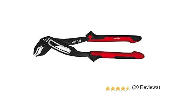 Noir WIHA 32342 Pince multiprise industrielle 250mm /à charni/ère