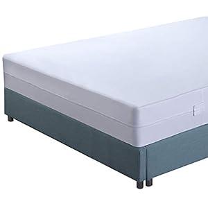 Utopia Bedding Premium wasserdichte Matratzeneinlage Mit Reißverschluss – Bettwanzen- Und Staubmilbensicherer…