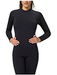 Gwinner Damen Warmline Thermo-Funktionsunterwäsche Langarm Shirt Top I