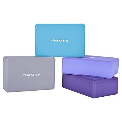 Yogablock in verschiedenen Farben - 2er Pack - Yogaklotz