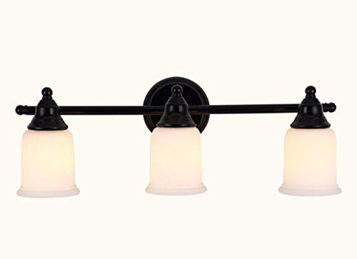 QCRLB Spiegel-Frontleuchten, American Style Spiegelfrontleuchte Retro-Badezimmer Einfache europäische Stil-Nachttisch-Wandleuchte Aisle Lichter Feuchtigkeits-Bad Spiegelschrank Led Lichter Wandlampe -