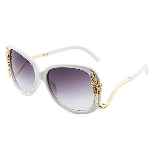 Polarized Sunglasses Lady UV Protection Luxusmarke Designer Polycarbonat Sonnenbrille Frauen Retro Rosa Rot Metallrahmen Sonnenbrille oculos de sol Feminino UV400 Classic Strong Frame Sunglasses