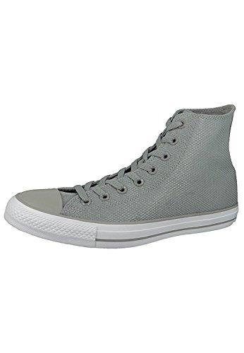 1J793 Converse Mandrini Charcoal Grey Chuck Taylor All Star HI, Converse Schuhe Unisex Sizegroup 10:45