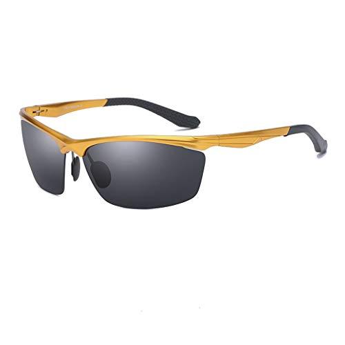 Jinxiaobei Herren Sonnenbrillen Polarisierte Sport-Sonnenbrille. Polarisierte UV400-Sport-Sonnenbrille. Anti-Fog Ideal zum Fahren oder for sportliche Aktivitäten. Superleichte Rahmenkonstruktion.
