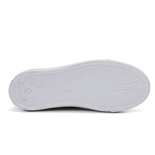 Scarpa sportiva Converse camoscio e tela blu Bianco