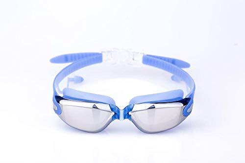 Bereichern Behandlung (Beschichtung wasserdichte und beschlagfreie Schwimmbrille - blau)