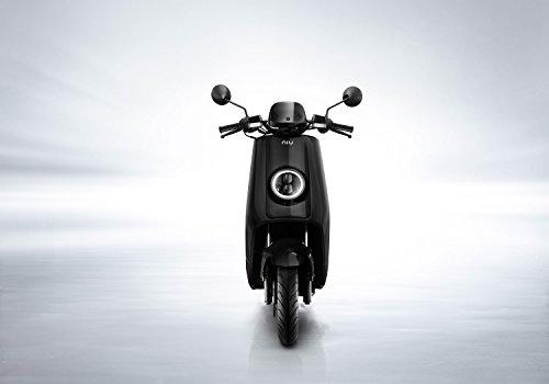 NIU N1S Elektroroller E-Scooter - Panasonic Li-Ion Akku - 80 km Reichweite - Bosch Motor - 45 km/h - Zweisitzer // angeboten von RollingBull® (schwarz) - 3