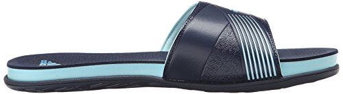 Adidas Performance Supercloud plus Diapositive W Athletic Sandal, noir / argent / clair Gris, 5 M Us Frozen Blue/Grey/Collegiate Navy