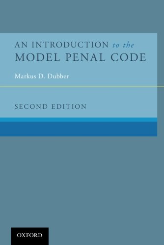 An Introduction to the Model Penal Code