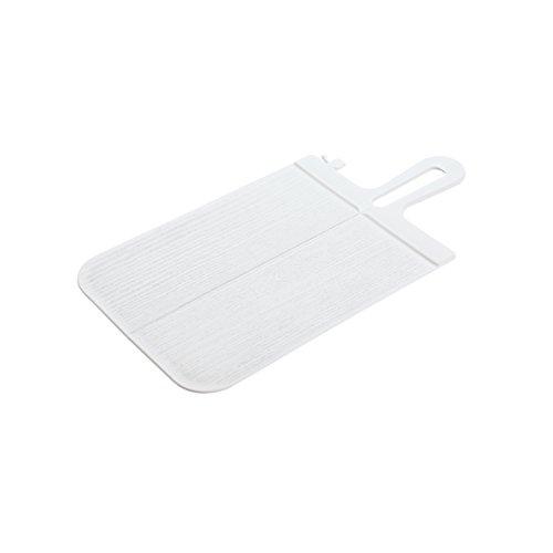 Koziol 3250525 rectangular white kitchen cutting board - kitchen cutting boards (rectangular, fruit & vegetable, herbs, white, monotone, 166 mm, 331 mm)