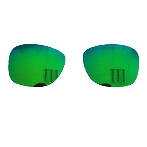 VocalSkull EIN Paar polarisierte Gläser/Anti-UV/Anti-Blue-Ray Sonnenbrille Knochenleitung Gläser schnell! (Grün)