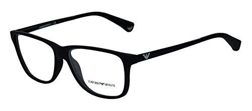 Emporio Armani Wayfarer Sunglasses (Black) (EA549BL54) image