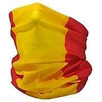 RUFFNEK Bandera de España (Civil)/Bandera de España/la Rojigualda Multifuncional Sombreros Cuello calentador - Talla Única