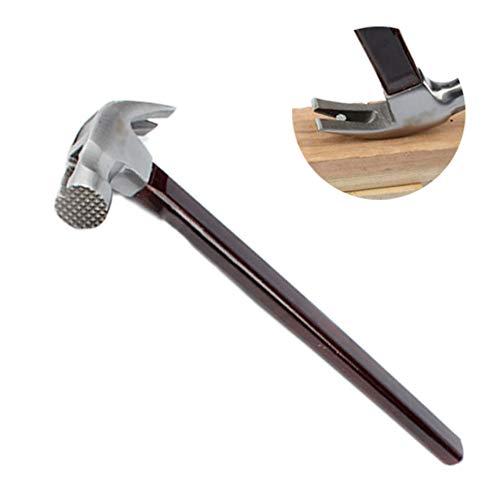 Hammer Magnetic, Klauenhammer Anti Rutsch, Holzgriff, DIY Haushalt Jobs, 40,5 cm