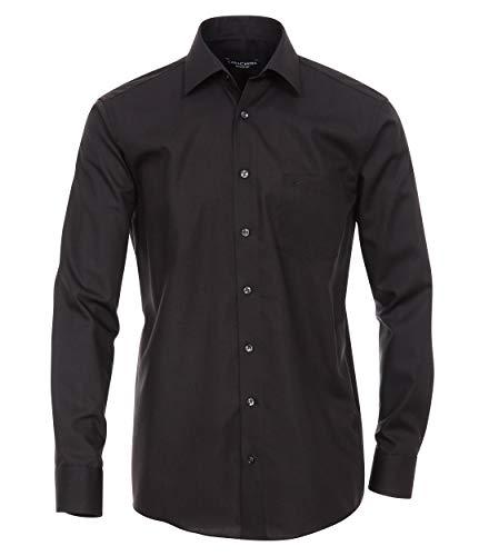CASAMODA Herren Business-Hemd unifarben extra Langer Arm 72cm 006052 Comfort Fit