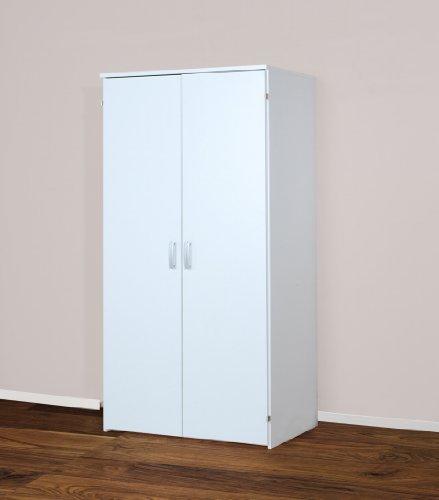 Möbeldesign Team 2000 GmbH 4094 Computerschrank, in Weiß, 161cm Höhe