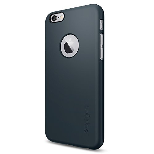 Spigen SGP10941 iPhone 6 Case Thin Fit A 4.7-Inch (Metal Slate)