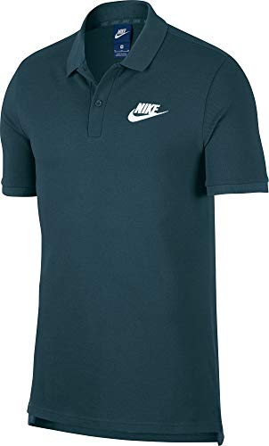 Nike Herren M NSW CE Matchup PQ Polo Shirt, Nightshade/White, XL