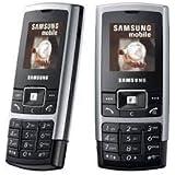 Samsung C130 Black Silver Sim Free Mobile Phone