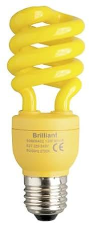 Brilliant ESL Spirale E27, 13 W, gelb 90660A02