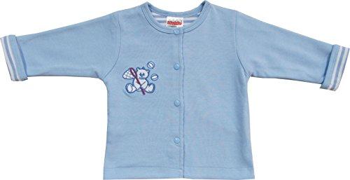 Schnizler Baby - Jungen Jacke Sweatjacke Cardigan Bär, Gr. 74, Blau (original 900)