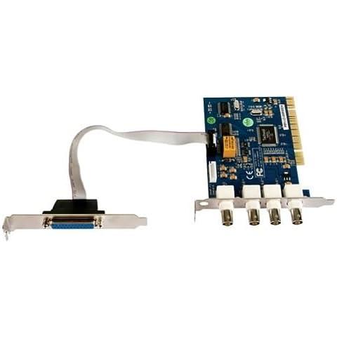 Tarjeta de Video DVR 4canales 4pantallas Video Surveillance Zapatillas ordenador PC