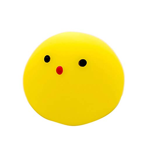 Fornateu 10PCS Mini Nette Karikatur-Tier Dusche Sounding Squeeze Spielzeug Heilung Stressabbau Spielzeug-Kind-Baby-Geschenk