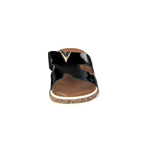 Chaussure Valente Beach Chaussons Femme Chaussons Look-cork Noir