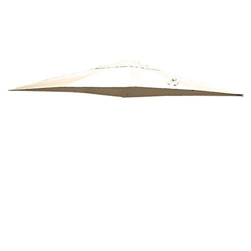 Sal mar Toile pour parasol Sens 3x4 Écru