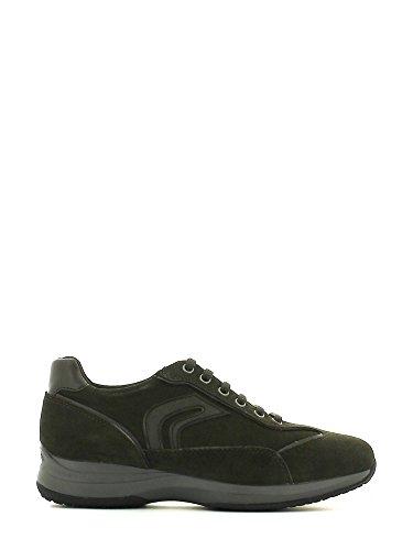 Chaussures de ville, couleur Marron , marque GEOX, modÚle Chaussures De Ville GEOX UOMO BOSTON A Marron Gris - Grigio