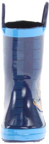 Kamik Ahoy, Bottes en caoutchouc de hauteur moyenne, non doublées mixte enfant Bleu - Bleu foncé