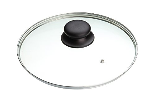 MasterClass Tempered Glass Saucepan Lid, 20 cm