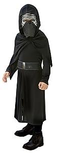 Star Wars Disfraz Kylo Ren, para niños, 5-6 años (Rubies 620260-M)