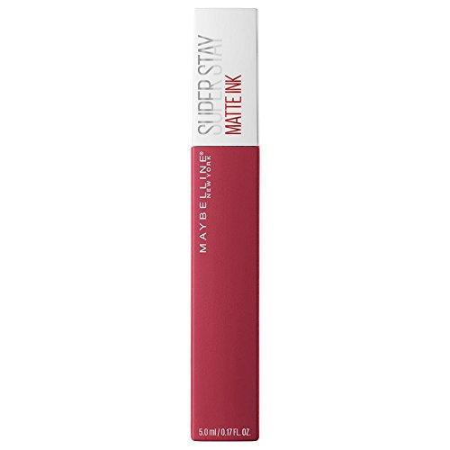 Maybelline Super Stay Matte Ink Un-Nudes Lippenstift Nr. 80 Ruler, farbintensiver Lippenstift für...