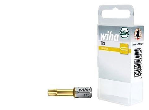 wiha torx-bits 25 mm, en substance Box art .7015-A tin t20 (2)