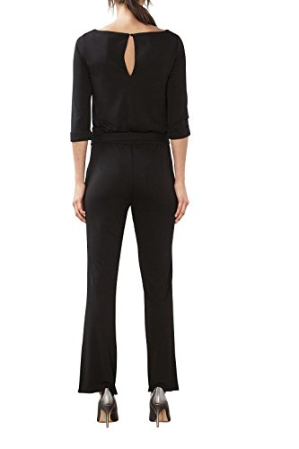 ESPRIT Collection Damen Jumpsuits 017EO1L001, Schwarz (Black 001), 38 (Herstellergröße: M) - 2