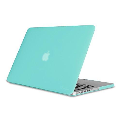 13 Macbook Grün Case Pro (Fintie MacBook Pro 13 Retina Hülle (NO CD-ROM Drive) - Ultradünne Hochwertige Matt Gummierte Hartschale Tasche Schutzhülle Snap Case für Apple MacBook Pro 13.3 Zoll mit Retina Display (A1502 / A1425), Mint Grün)