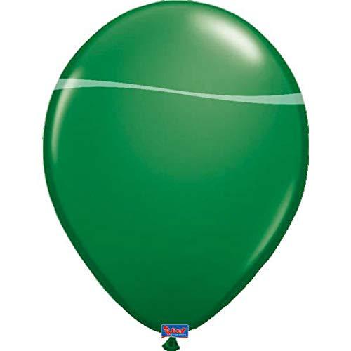 Folat 08111 - Globos metálicos (30 cm, 100 unidades), color verde