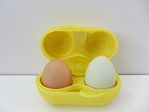 1a TUPPER A128 EI & GO Eierbehälter ZwEI-dabei --- gelb
