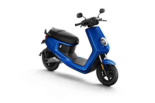 NIU M+ Scooter Elettrico - Panasonic Batteria agli ioni di Litio - Motore Bosch - Portata 100 km - 45 km/h (Blu)