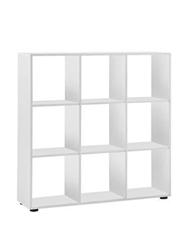 FMD Möbel 248-005 Raumteiler Mega 5 (B/H/T) 104.5 x 108.5 x 33 cm weiß
