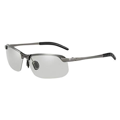 AOGOTO Intelligente Sonnenbrillen-Schutzbrillen-Männer, die Fischen-Übergangsgläser fahren