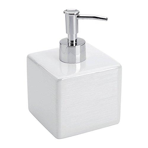 Weiße Keramik Soap Dispenser Linie Kuba CUBA - Keramik-soap