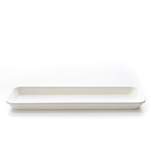 Plateau pour jardinère INIS 50 cm blanc